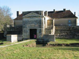 La porte Royale de Fort-Médoc