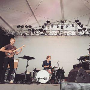 Groupe de musiciens lors du festival Jazz A Luz - Cévéo