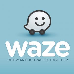 Logo Waze pour notre article sur les applis de l'été