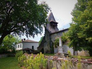 Eglise de Saint-Martin d'Estampon (Losse)