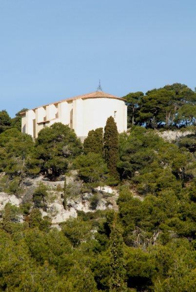 Notre Dame Des Auzils, à Gruissan, dans le Massif de La Clape