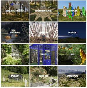 Carrousel d'œuvres Horizons Sancy 2019