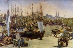 Port de Bordeaux et ses gabares pour article sur la Gironde - Cévéo