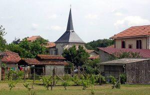 l'église de Saint-Paul-en-Born