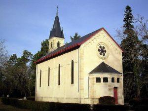 Chapelle Sainte-Eugénie - Solférino - Landes