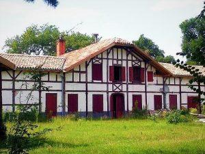 ferme du Pouy à Solférino, typique du pays Landais