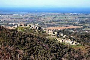 Le village de Sorbo-Ocagnano, en Corse