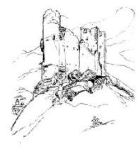 Château Sainte Marie à Luz Saint Sauveur, par Victor Hugo
