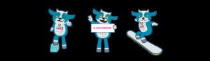 jeux olympiques de la jeunesse à Lausanne : la mascotte Yodli !